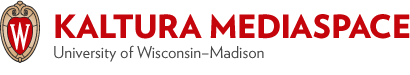 UW-Madison Kaltura MediaSpace logo